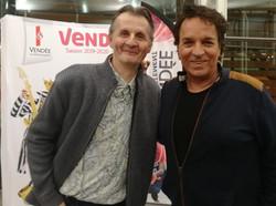 Avec Christian Delagrange