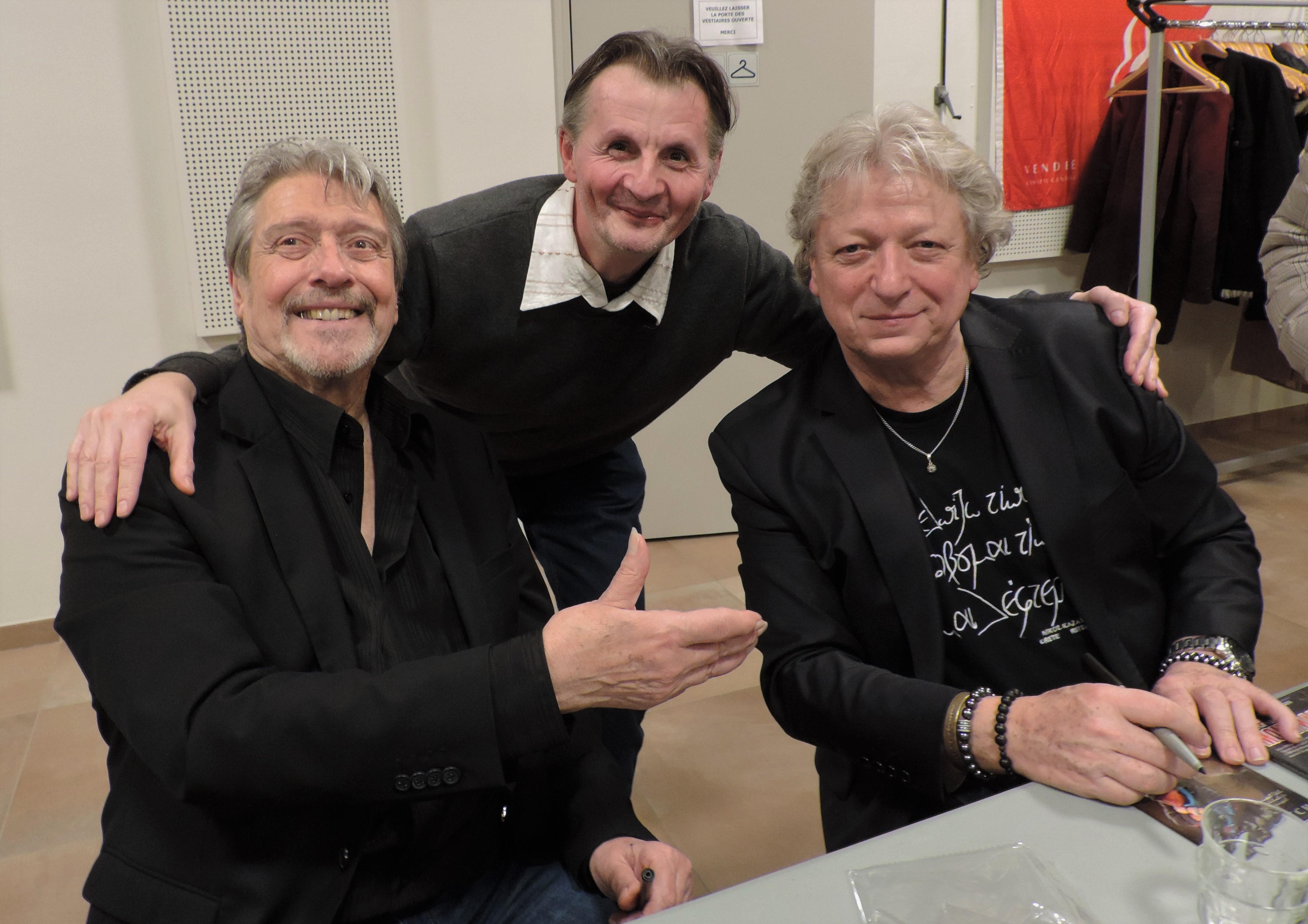 avec Gilles Dreu et Alain Turban