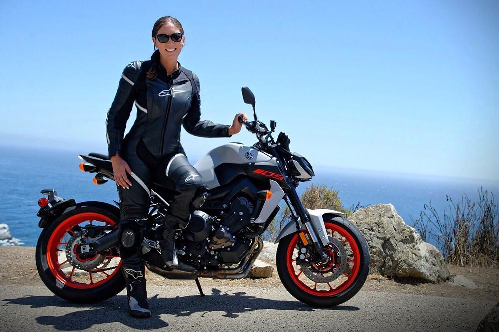 Sarah Merrell Yamaha MT-09