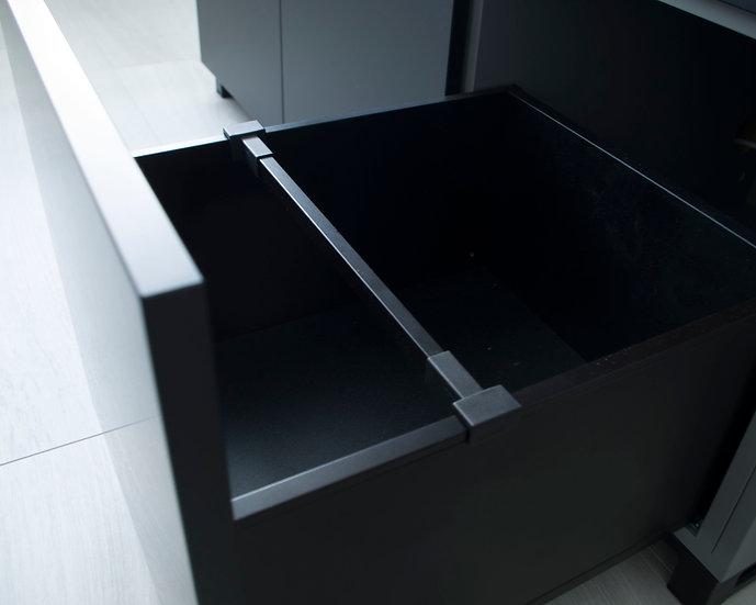 Accessories - cross railing for vinyl drawer