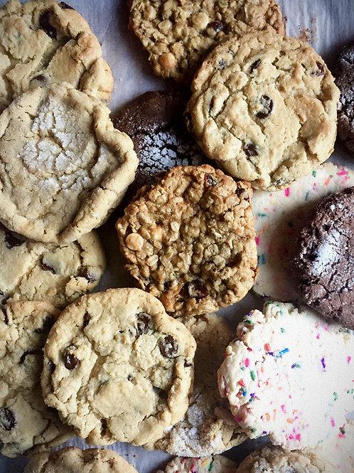 One dozen assorted cookies (12 cookies)