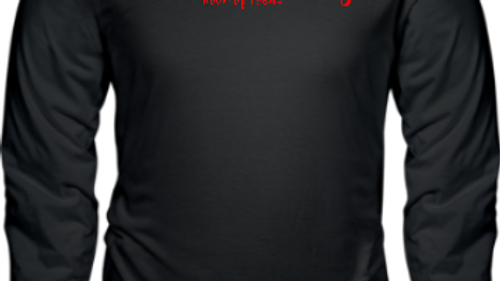 Men's Long Sleeve Black Tee