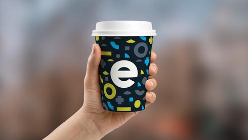 Eastside Coffee Cup Mockup