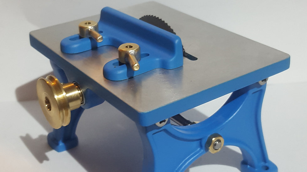 working model table saw, kit un-machined