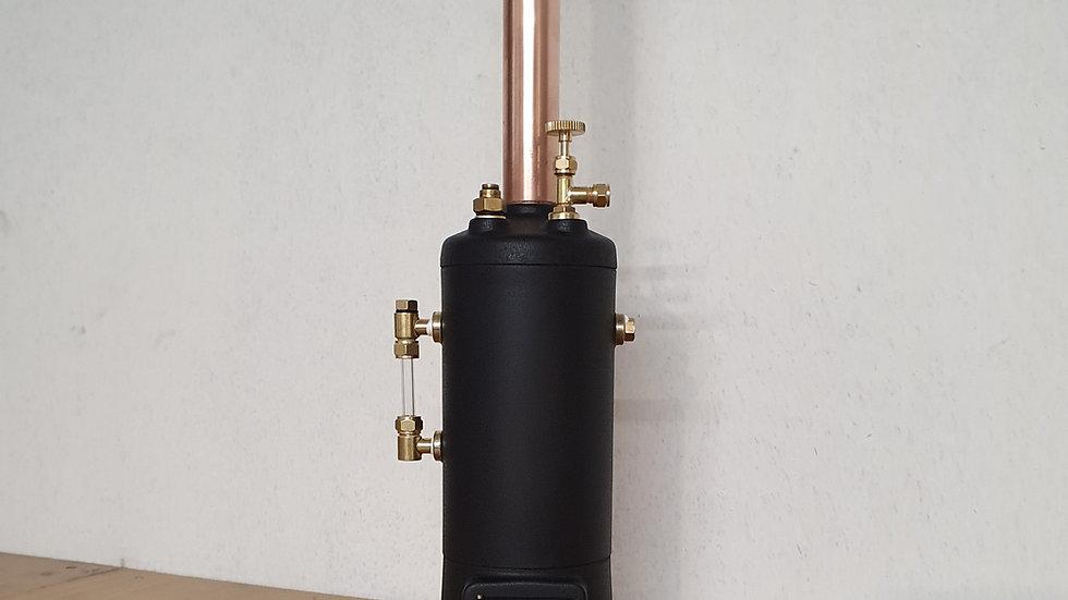 Model steam boiler, kit unbuilt.