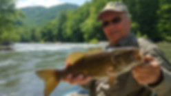 New River Smallmouth bass West Virginia