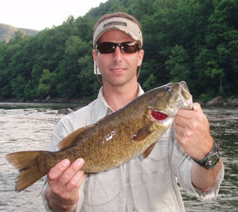 New River Smallmouth Bass West Virginia