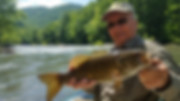 Pre Spawn Smallmouth on the New River West Virginia