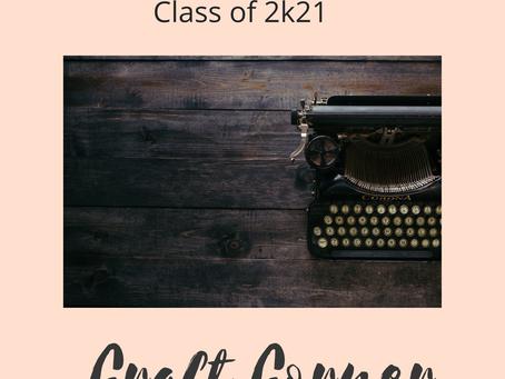 Craft Corner: The Mighty Antagonist