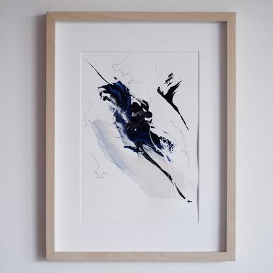 Paperwork n.5 — Blue Velvet // available