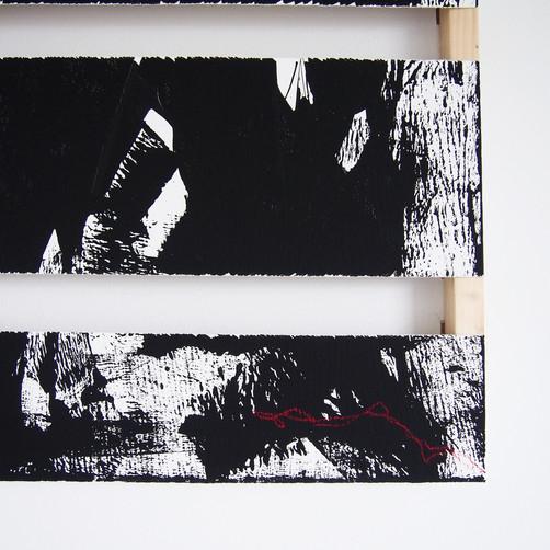 """Sacrifice"" detail, 60x80 cm // available"