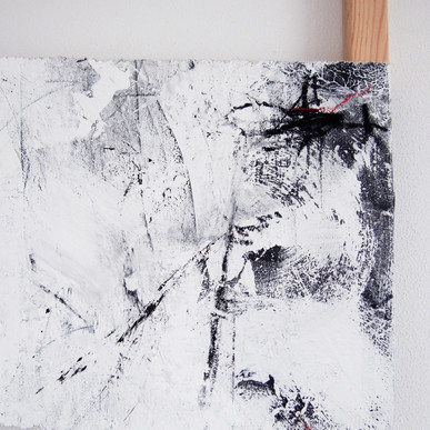 """""""Torn"""" detail, 70x100 cm // available"""