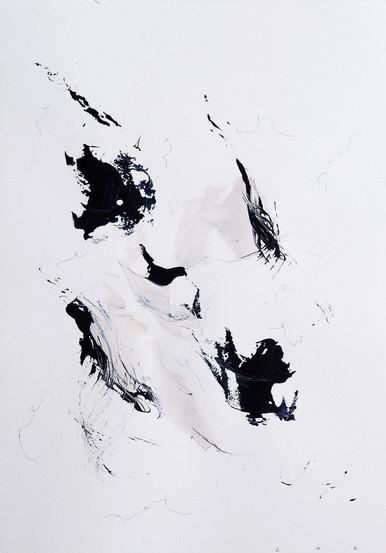 Paperwork n.16 — Blue Velvet // SOLD