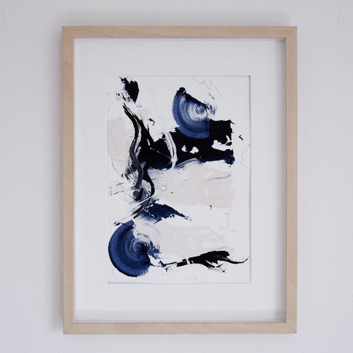 """""""Paperwork n.12 — Blue Velvet"""" // available"""