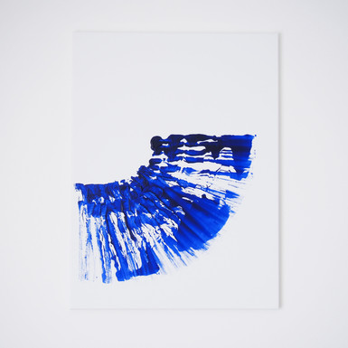 """""""This is brush, 1"""", Marks study // available"""