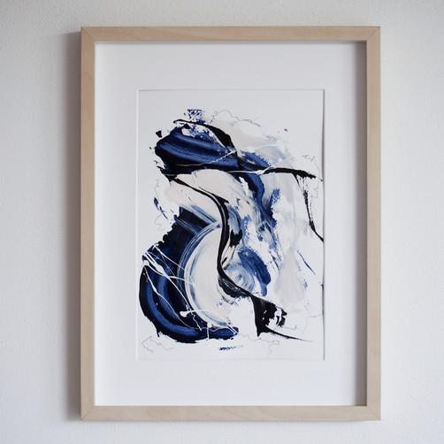 """""""Paperwork n.4 — Blue Velvet"""" // available with IdeelArt"""