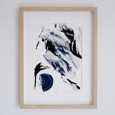 Paperwork n.9 — Blue Velvet // available