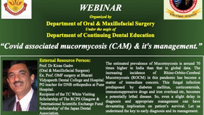 Covid associated mucormycosis(CAM) & it's management.