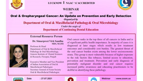"""""""World Head & Neck Cancer Day - 2021"""" Department of Oral Pathology and Microbiology"""