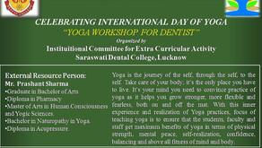 YOGA WORKSHOP FOR DENTIST