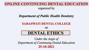 ONLINE CONTINUING DENTAL EDUCATION