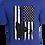 Thumbnail: Grunge Blue Flag w/Dog
