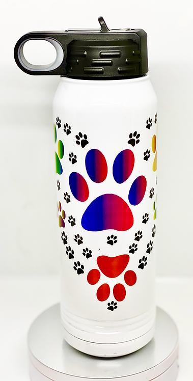 30 oz Water Bottle - Stock Designs or Custom