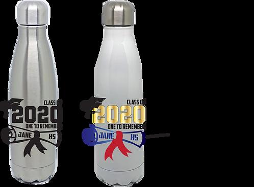 """17oz Water Bottle - """"Coke Bottle"""" Style"""