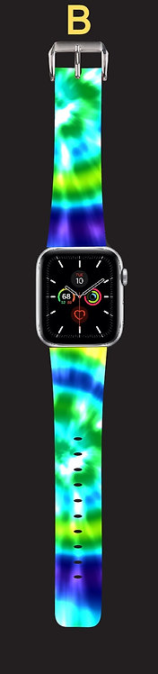 Tie-Dyed Watch Band