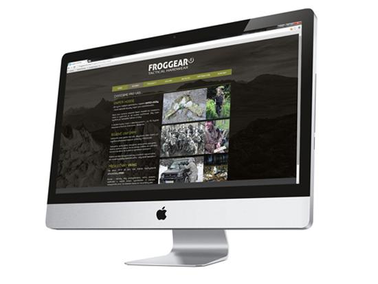 webdesign / FROGGEAR