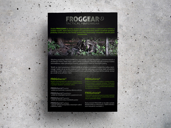 letáky / FROGGEAR