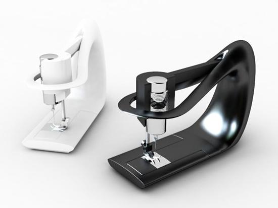 design šicího stroje