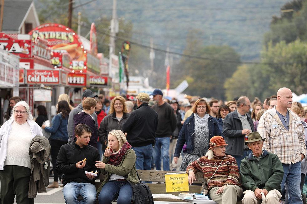 Fall Foliage Festival Bedford Pennsylvania 2018
