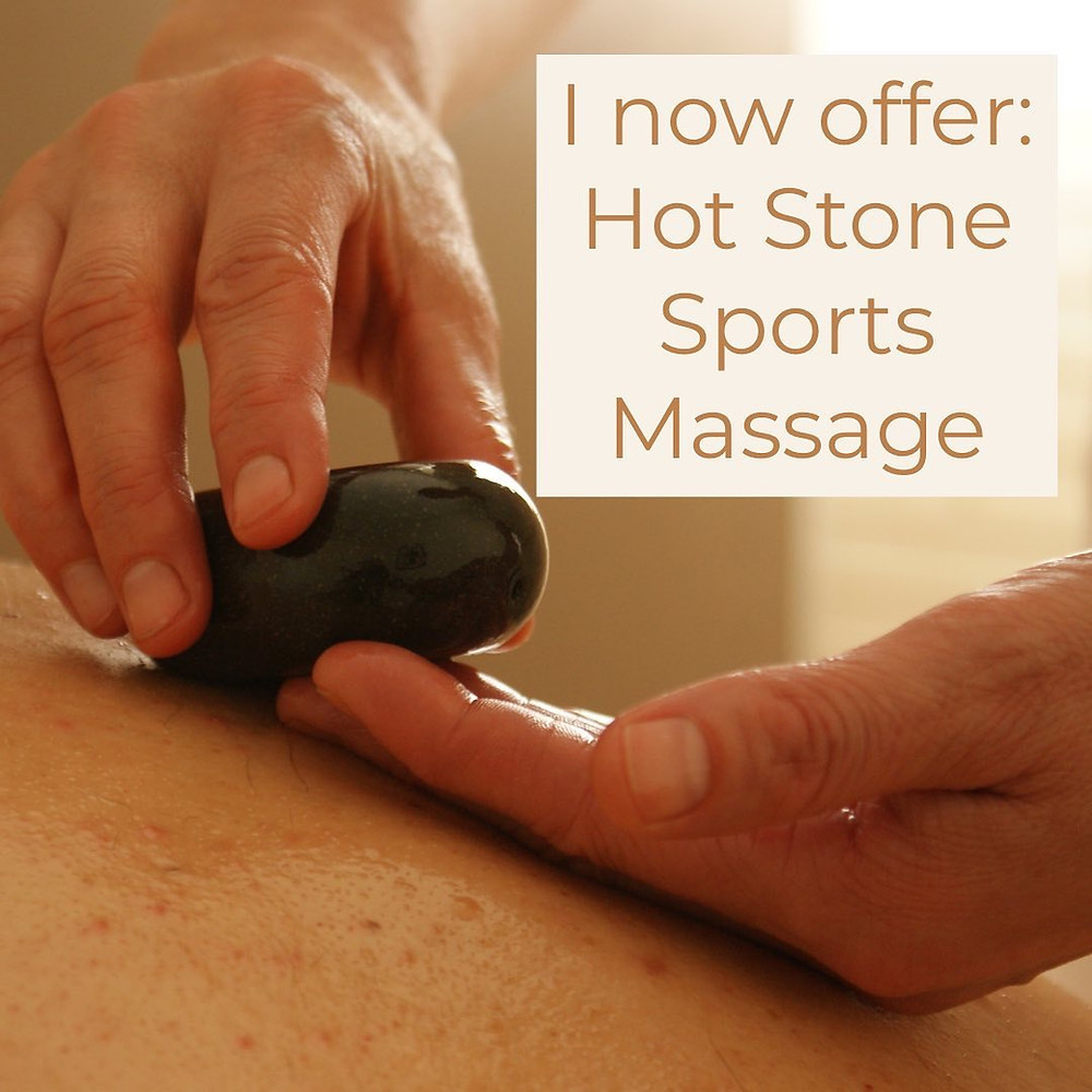 Massage Mersea Hot Stones