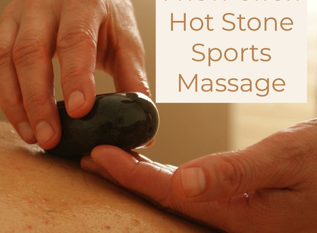 Hot Stone Sports Massage