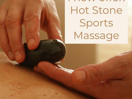 Hot Stone Sports Massage