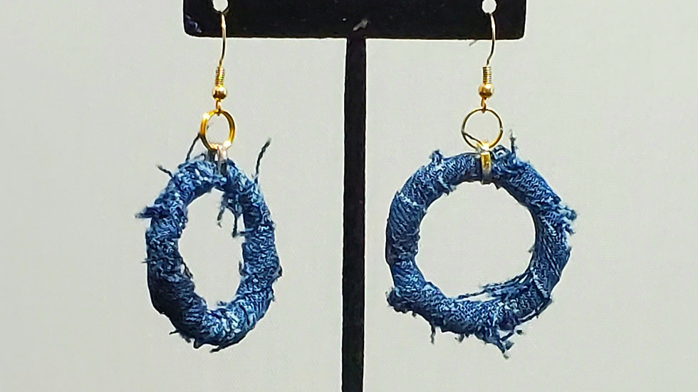 Denim Hoops