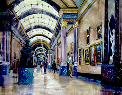 GRAND GALLERY OF THE LOUVRE