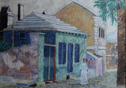 SHINBONE ALLEY, ST. GEORGES, BERMUDA
