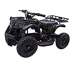 XtremepowerUS Mini Electric Sonora Quad Battery-Powered ATV 4-Wheel Off-Road 2