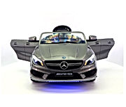 Moderno Kids Mercedes CLA45 Children Ride-On Car with R/C Parental Remote 12V Battery Power LED Wheels Lights