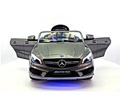 Moderno Kids Mercedes CLA45 Children Ride-On Car with R/C Parental Remote 12V Battery Power LED Wheels Lights