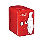 Coca-Cola KWC-4 6-Can Personal Mini 12V DC Car and 110V AC Cooler