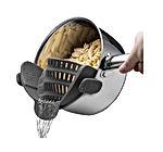 Kitchen Gizmo Snap N Strain Strainer - Clip On Silicone Colander