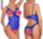 Lingerie for Women One-Piece Teddy Lingerie Sexy Bodysuit Lace Nightie
