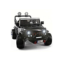2020 Two (2) Seater Ride On Kids Car Truck w/ Remote Control | Large 12V Power Battery Licensed Kid Car to Drive w/ 3 Speeds