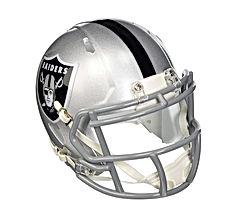 Riddell Oakland Raiders NFL Replica Speed Mini Football Helmet