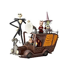 The Nightmare Before Christmas Mayor Car Figurine