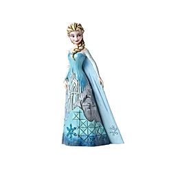 Frozen Elsa with Ice Castle Dress Figurine