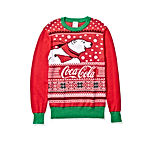 Coca-Cola Men's Ugly Christmas Sweater